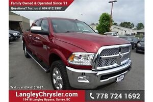 2014 RAM 2500 Laramie w/Navigation, Leather Int. & Sunroof