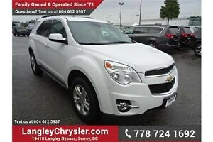 2014 Chevrolet Equinox 1LT w/Sunroof & Safety Rear Camera