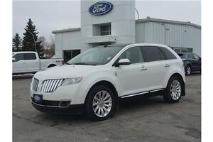 2013 Lincoln MKX Base PST PAID! LOCAL TRADE!