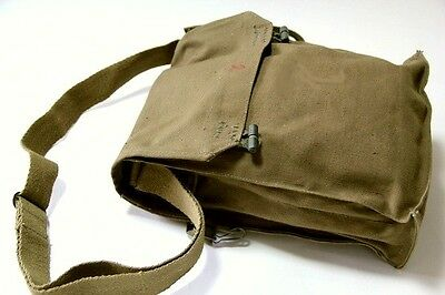Genuine Czech Shoulder Messenger Military Vintage Bag Army Haversack Satchel