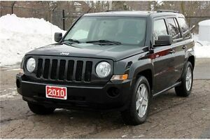 2010 Jeep Patriot Sport/North   ONLY 88K   4x4   CERTIFIED +...