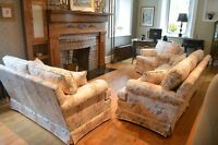 Vintage 3PC. Sofa Set - free delivery