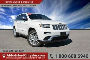 2015 Jeep Grand Cherokee Summit Fully Loaded