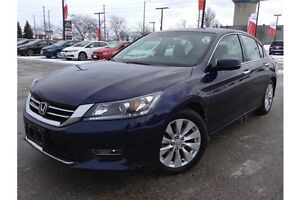 2013 HONDA ACCORD EX-L V6 - LEATHER - REARVIEW CAM - BLUETOOTH