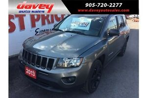 2013 Jeep Compass Sport/North 4X4, REMOTE STARTER, SUNROOF