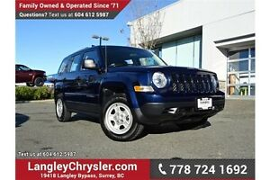 2015 Jeep Patriot Sport/North LOCALLY DRIVEN, ONE OWNER & ACC...