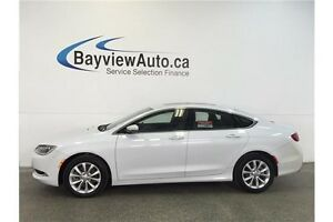 2015 Chrysler 200 C- 3.6L! SUNROOF! LEATHER! NAV! ALPINE SOUND!