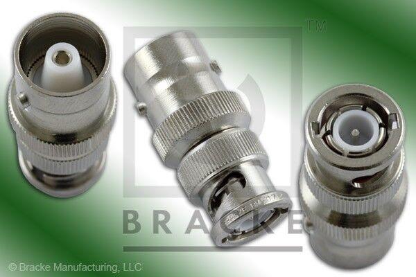 C Female to BNC Male Ludlum adapter U000-8317 UG-635/U BRACKE BM50712