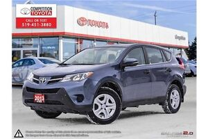 2013 Toyota RAV4 LE Toyota Certified, One Owner, No Accidents...