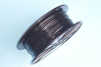 Black Vinyl Coated Wire Rope Cable116 - 332 7x7 250 Ft Reel