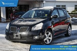 2009 Pontiac Vibe Base AM/FM Radio and Air Conditioning