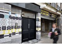 BRICK LANE Office Space To Let - E1 Flexible Terms | 2-66 People