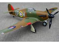 Remote Controlled Hawker Hurricane 1250