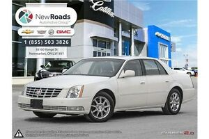 2010 Cadillac DTS LOADED | LTHR, SNRF, CLD SEATS