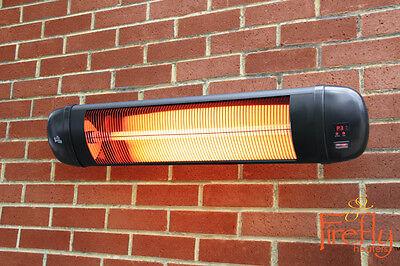 Appareil Chauffage Infrarouge Support Mural Télécommandé Extérieur Jardin Hiver