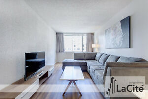 Modern Furnished 1 Bedroom for Short Term Rental in Montreal