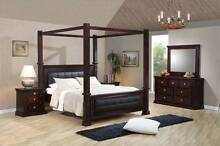 King 4 Poster Bed Ex-Display Burleigh Heads Gold Coast South Preview