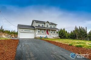 Stunning two storey home on a 1 acre lot in beautiful Flatrock.