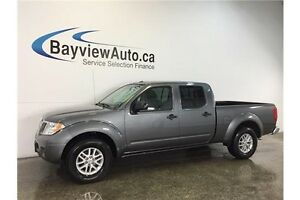 2016 Nissan FRONTIER SV- 4x4! ALLOYS! BLUETOOTH! A/C! CRUISE!