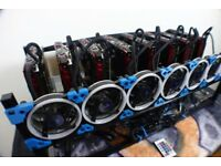 Quick Sale - 6 x GPU mining rig RX 580 - 8GB - ETH 185mh/s only 1 month old - as new