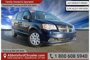 2015 Dodge Grand Caravan SE/SXT ACCIDENT FREE!
