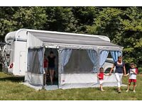 Fiamma privacy room awning for camper van