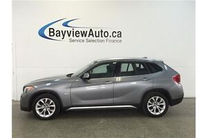 2012 BMW X1 28I- TURBO! AWD! PANOROOF! LEATHER!