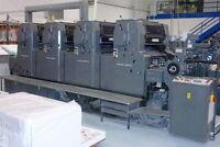 printing press operator wanted
