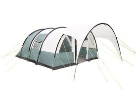 Sun camp invader 600 6 man tent with awning