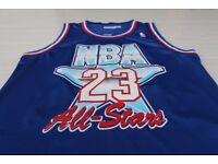 Michael Jordan 1992 All Star Jersey NBA Basketball blue ver