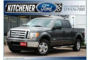 2012 Ford F-150 XLT/CREW/4X4/3.5 ECO/TOW PCKG/ALLOYS/ Kitchener / Waterloo Kitchener Area image 1