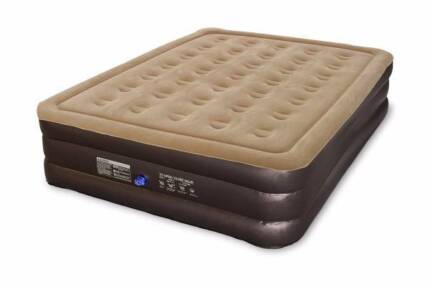 Komodo Double Height Queen Air Bed with 12V Pump-NEW