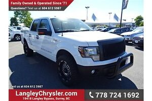 2013 Ford F-150 XLT w/ Leather Interior & Navigation