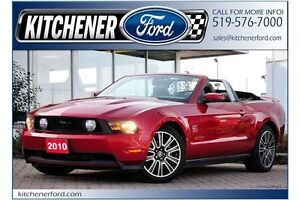 2010 Ford Mustang GT CONVERTIBLE!!/5 SPD/LEATHER/HTD SEATS/NA...