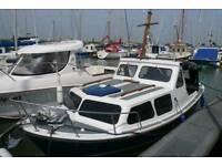Myra plast 21 foot Norway fishing boat