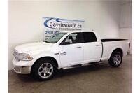 2014 Dodge RAM 1500 LARAMIE- ECO DIESEL! TURBO! LEATHER! LOADED!