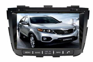 kia sorento hd touchscreen gps bluetooth radio dvd audio system
