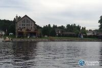 Long lake waterfront home for sale with in-law suite