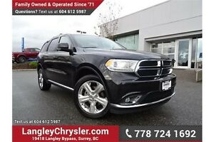2015 Dodge Durango Limited W/ ALL-WHEEL DRIVE & DVD ENTERTAIN...