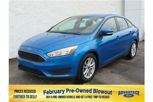 2015 Ford Focus SE Sync Voice Activated.