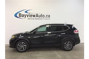 2016 Nissan ROGUE SL - HEATED LEATHER! PANOROOF! PARK AID! AWD!