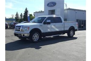 2011 Ford F-150 Lariat LEATHER-HEATED/COOLED SEATS-6.5' BOX
