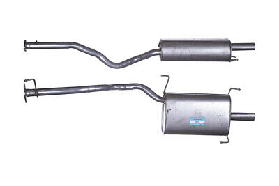 Box with Tail Pipe Exhaust For Toyota Previa GTY551 Rear Silencer Muffler TY551