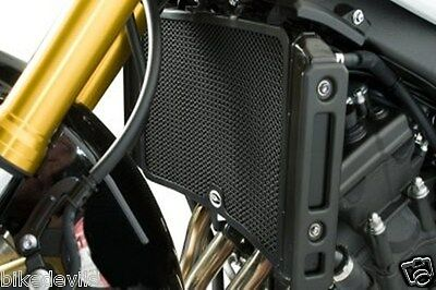 <em>YAMAHA</em> FZ1 N  FZ1 S RG RACING BLACK RADIATOR GUARD COVER PROTECTOR R
