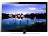 """50"""" Samsung tv plasma in nice condition with original remote"""