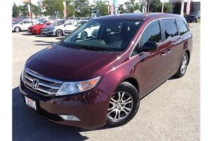2013 HONDA ODYSSEY EX-L - LEATHER - SUNROOF - REARVIEW CAM