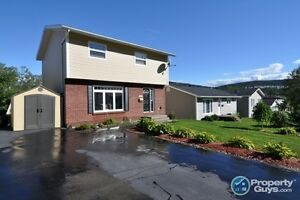 This 3 plus 1 bedroom home is perfect for a growing family.