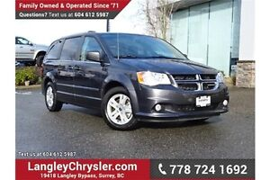 2016 Dodge Grand Caravan Crew W/ U-CONNECT BLUETOOTH, LEATHER...