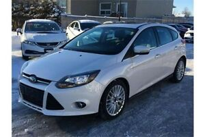 2013 Ford Focus Titanium | Bluetooth | CERTIFIED + E-Tested Kitchener / Waterloo Kitchener Area image 1