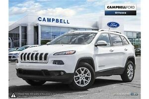 2014 Jeep Cherokee North ALL WHEEL DRIVE--37,000 KMS-LOADED